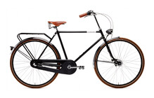 Creme Holymoly Doppio Vlo hollandais Homme 3-speed, dynamo noir